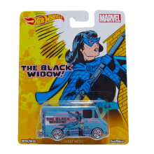 HOTWHEELS Pop Culture Marvel The Black Widow Combat Medic DLB45