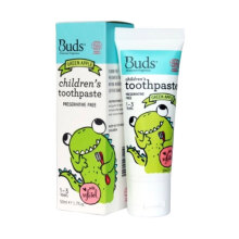 Buds for kids Children's Toothpaste with Natural Xylitol - Green Apple [1-3 years]