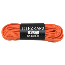 KIPZKAPZ FS21 Flat Shoelace - Orange [6mm]