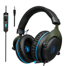 Blitzwolf Sades R3 Gaming Bass Surround Stereo Over Ear Game Headset with Microphone Volume Control   -  -