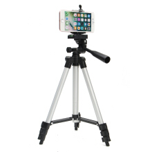 Professional Adjustable Tripod Stand Holder Live Selfie Stick for Camera iPhone 8 Plus X Samsung S8 Black