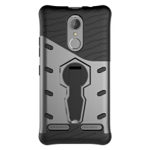 Smatton Case hp Lenovo K6 Power Case Armor Shockproof Hybrid Hard Soft Silicone 360 Degree Rotation Phone Cover shell