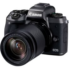 [free ongkir]CANON EOS M5 kit EF-M 18-150mm - Black