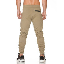 BESSKY Men Trousers Sweatpants Slacks Casual Elastic Sportwear Baggy Jogging Pants _