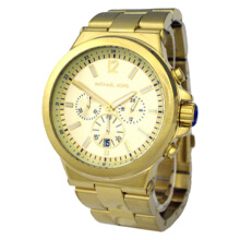 Michael Kors JetSet Chronograph Gold Tone Stainless Steel Watch [MK8278]