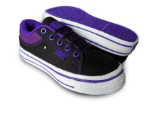 RECORD Carla Women  Sepatu Sneakers Black Purple