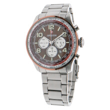 Expedition Man Chronograph Brown Dial Stainless Steel [EXF-6728-MCBTNBORE]