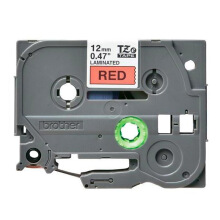 BROTHER Label Tape TZE-431 12MM Black on Red