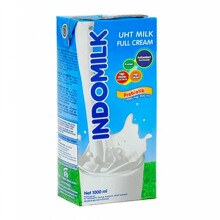 INDOMILK  UHT Plain 1000ml