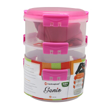 TECHNOPLAST Genio Round Sealware Stackable M3 Magenta