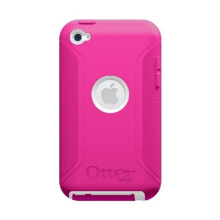 OtterBox iPod Touch 4 Defender - White/Hot Pink