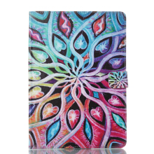 Sentum Apple iPad Air 2/iPad 6 Case Tablets Flip Stand Leather Colorful leaf