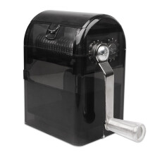 BESSKY Hand Crank Crusher Tobacco Cutter Grinder Hand Muller Shredder Smoking Case_