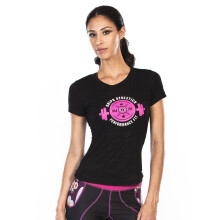 GRIPS Ladies Weight TEE Shirt BLACK