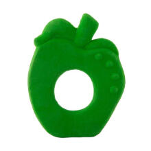 Oli & Carol Chew Fruit Apple Teether - Green