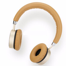 Blitzwolf ROCK RAU0512 Universal Stereo Wired Control Headset Headphone with Mic for Tablet Mobile Phone Gold  - Gold -