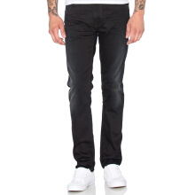 NUDIE JEANS Thin Finn Unisex - Black Smoke