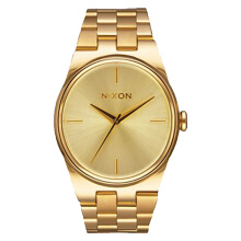 NIXON The Idol Gold Dial Stainlees Steel Watch [A953502]