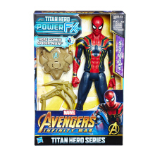HASBRO Avengers 12 in Titan Hero Power FX Spiderman AVSE0608