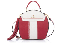 BONIA Dynamic Sonia Hand Bag - Red White Red White [860170-321-04]