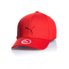 PUMA Stretchfit BB Cat Cap - Flame Scarlet