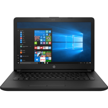 "HP 14-bs751TU 14"" HD/Intel Celeron N3060/4GB/1TB/Integrated Graphics/WIN 10 Home - Black"
