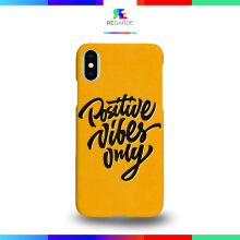 Regarde iPhone X Case - Positive Vibes Only