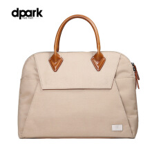 dpark Classic Business Briefcase for 13.3 inch Notebook - Khaki