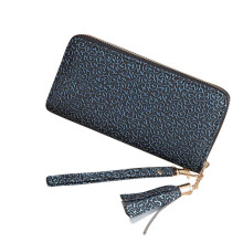 BESSKY Fashion Women Tassels Long Wallet Card Holder Billfold Purse Phone Bag_