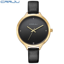 CRRJU Lady Watches Women Dress Watch Fashion Casual Quartz Watch Simple Analog Wristwatch relogio feminino