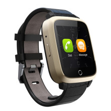 Bluetooth 3G  Android Smart Watch SIM Phone 8GB Front Camera Quard Core