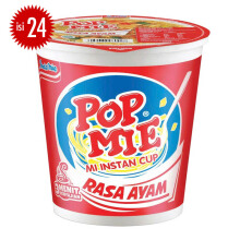 POP MIE Ayam Jumbo Carton 75gr x 24pcs