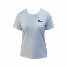 FAIRTEX Women Stretch Shirt - LightBlue BWC4
