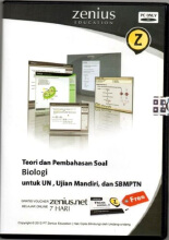 Zenius Set CD SMA Biologi