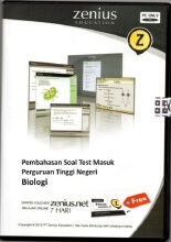 Zenius Set CD SBMPTN Biologi