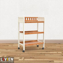 LIVIEN Furniture - Rak Kotak Bayi - Baby Box Brown