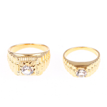 1901 JEWELRY Cincin Couple 242-243 (Lapis Emas 24K)