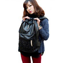 Fashionmall Women's Casual Black Bag Black