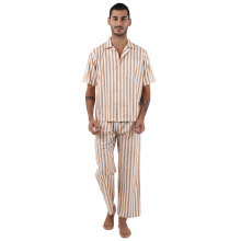 MOODS Male Stripe Long - Brown [All Size]