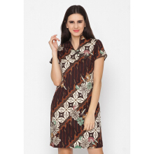 FBW Shanghai Cheongsam Batik Dress - 4 Warna