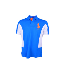 POLO RALPH LAUREN - Custom-Fit Lacoste Polo Shirt Royal-White Men