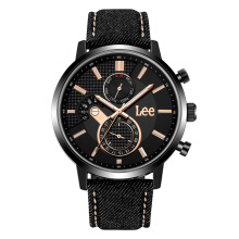 Lee Watch LEF-M127ABV1-1R Jam tangan pria Black