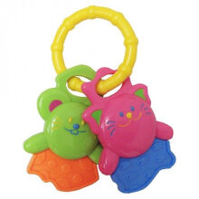 LUCKY Baby Funkeys Teether - Animal (Assorted Colors)