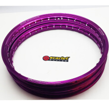 SCARLET RCAING -velg motor -uk 17-16-/140 type WM shape purple Others