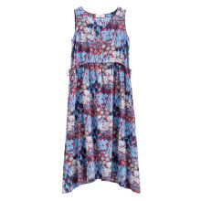 INMAN 1882103565 Dress Printing Floral Design Sleeveless Lady Elegant Dress