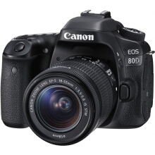 Canon EOS 80D Kit EF-S 18-55mm IS STM - Black