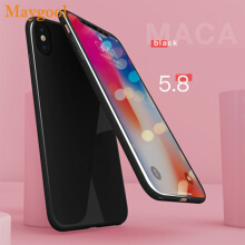 Maygool Plastic Phone Cases For iphone X