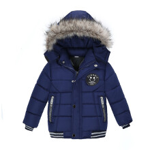BESSKY Fashion Kids Coat Boys Girls Thick Coat Padded Winter Jacket Clothes_