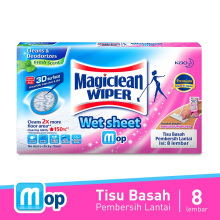 MAGICLEAN Wiper Wet Sheet 8's