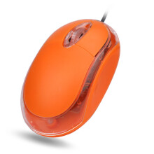 BESSKY For PC Laptop 1200 DPI USB Wired Optical Gaming Mice Mouses _ Orange